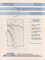 SCD Computing News Volume 10 Issue 1
