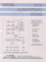 SCD Computing News Volume 10 Issue 6