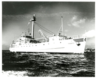 Photograph, Research vessel, Trident