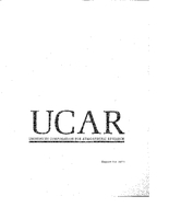 1973 UCAR - University Corporation for Atmospheric Research - Report