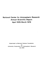 1978 - 1979 Annual Scientific Report (April 1978 - March 1979)