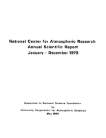 1979 Annual Scientific Report (January - December)