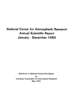 1980 Annual Scientific Report (January - December)