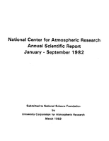 1982 Annual Scientific Report (January - September)