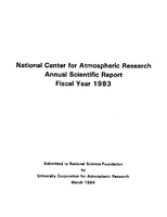 1983 Annual Scientific Report