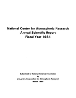 1984 Annual Scientific Report
