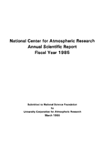 1985 Annual Scientific Report