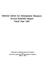 1987 Annual Scientific Report