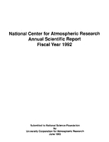 1992 Annual Scientific Report