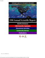 1998 Annual Scientific Report