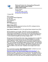 Letter on Future of the IPCC
