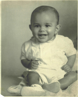 Photograph, Warren Washington as a baby