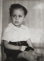 Photograph, Warren Washington at about four years old
