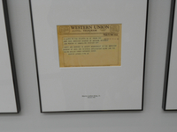 Photograph, Martin Luther King's letter of acceptance to the American Academy of Arts and Sciences
