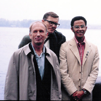 Photograph, Warren Washington, Ed Lorentz, and John Brown