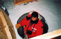 Photograph, Warren Washington in Antarctica
