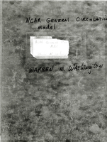 NCAR General Circulation Model (GCM) Notebook