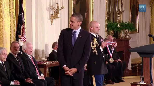 Video, National Medal of Science Award Ceremony
