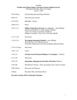 WCIAS initiative review meeting agenda