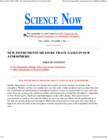 Science Now Volume 7, Number 1