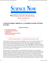 Science Now Volume 6, Number 3