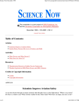 Science Now Volume 1, Number 2