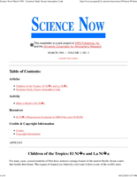 Science Now Volume 1, Number 3