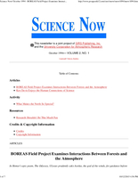 Science Now Volume 2, Number 1
