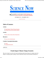 Science Now Volume 3, Number 1