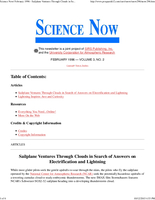 Science Now Volume 3, Number 2