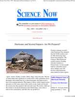 Science Now Volume 5, Number 1