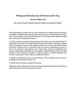 Mixing and entrainment at stratocumulus top [abstract]