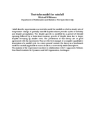 Test-tube model for rainfall [abstract]