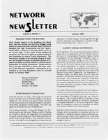 Network Newsletter Volume 3, Number 4