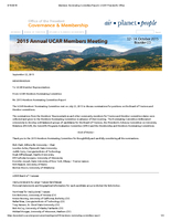 Nominating Committee Report, October 2015