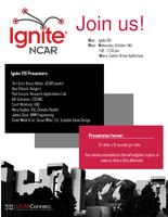 Ignite VIII Poster, October 2015