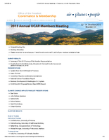 UCAR Members' Meeting Follow-Up Overview, October 2015