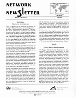Network Newsletter