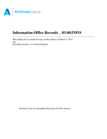 Information Office Records