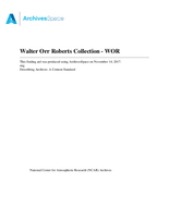 Walter Orr Roberts Collection