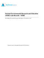 Societal-Environmental Research and Education (SERE) Lab Records