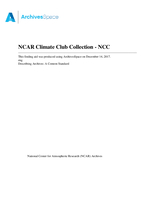 NCAR Climate Club Collection