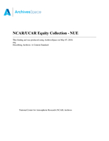 NCAR/UCAR Equity Collection