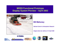 Maintenance Decision Support System (MDSS) Preview