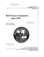 RAF sensor summaries (draft)