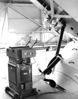 Large Spar Air Filter System at Climax Observatory