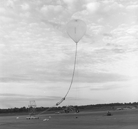 Photograph, Balloon launch, Palestine