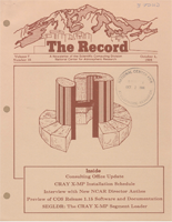 Scientific Computing Division (SCD) Records