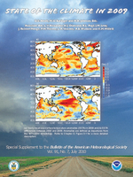 "Total column water vapor [In ""States of the Climate in 2009""]"