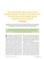 The Weather Research and Forecasting Model's Community Variational/Ensemble Data Assimilation System: WRFDA
